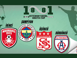1881 U13 CUP'ta kupalar sahiplerine kavuştu