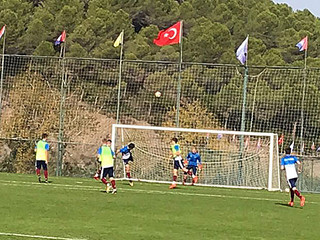 Russian Youth National Football team completed their camp program at Kusadası