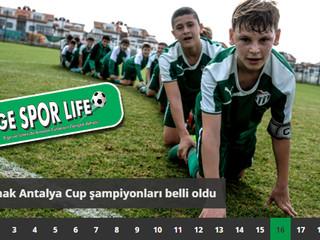 2. Limak Antalya Cup şampiyonları belli oldu