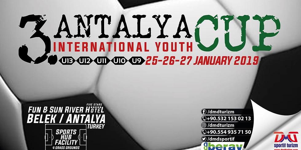 3. Antalya International Youth Cup - Turkey
