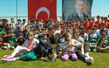 Çocuk Futbol Festivali 23 Nisan Coşkusuyla sona erdi