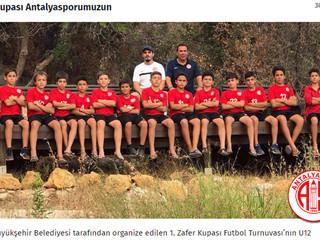 Zafer Kupası Antalyasporumuzun