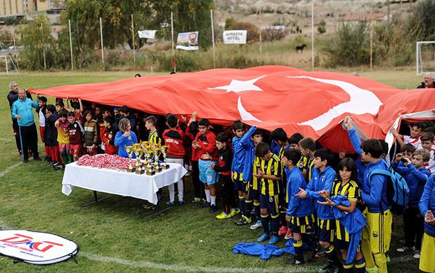 kapadokya cup futbol turnuvası