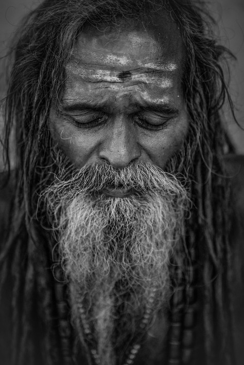 Human - Sadhu, India
