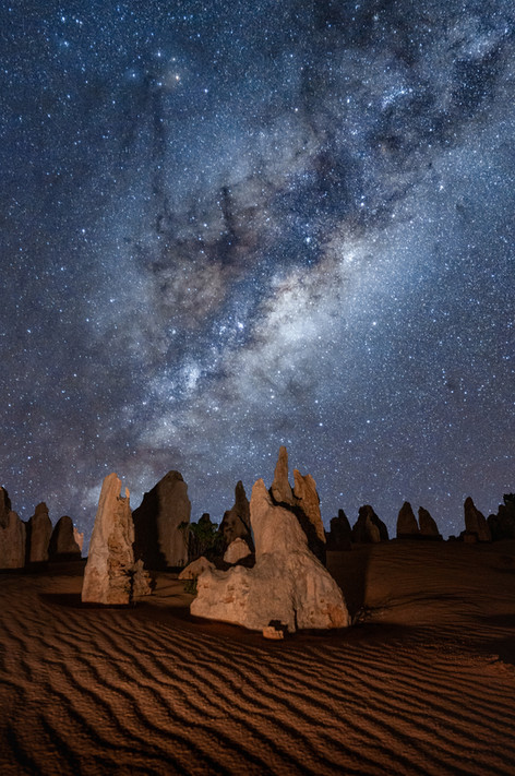 Landscapes - Pinnacles Astro