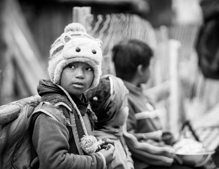Human - Kids, Nepal
