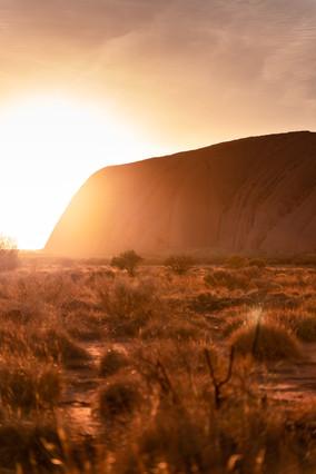 Landscapes - Uluru Sunrise