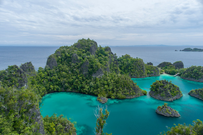 Earth - Pianemo, West Papua
