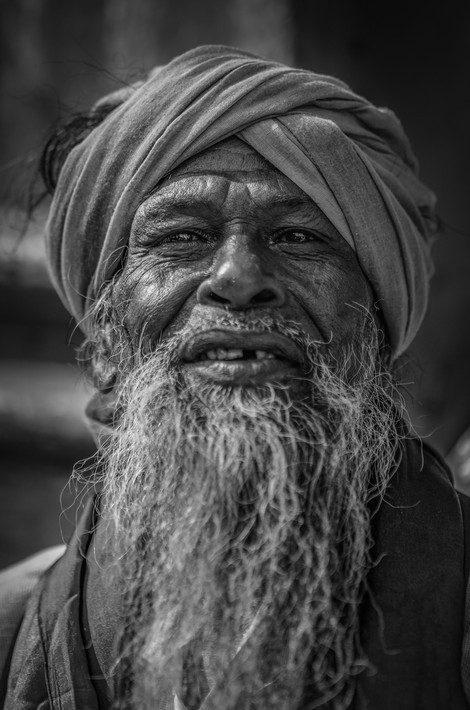 Human - Gem Seller, India