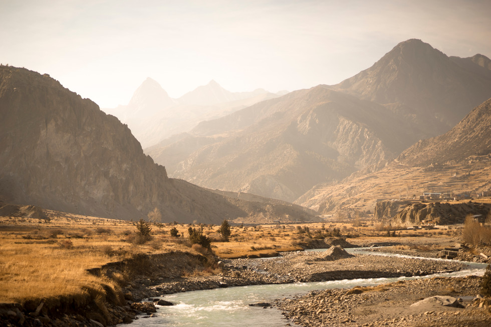 Earth - Manang, Nepal
