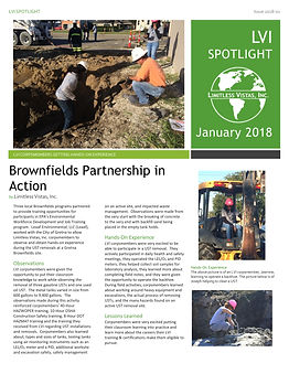 Brownfields Partnership in Action