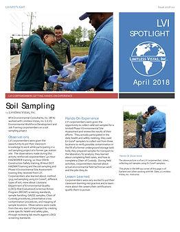 LVI Members Soil Sample