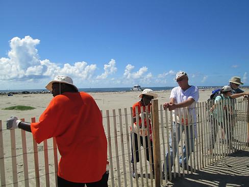 Sand Fence Installation