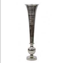 Silver Trumpet vase