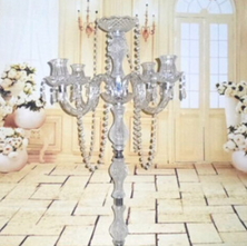 Acrylic candleabras