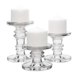 Clear candle risers