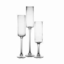 Extra Tall floating candle holders