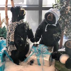 Winter Bear decor