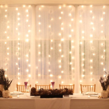 LED Curtain of lights
