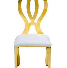 Mirror Gold Infinity Chair
