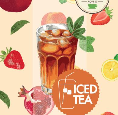Maak thuis lekkere iced tea!