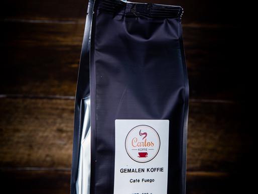 Koffie van het moment : Café Fuego