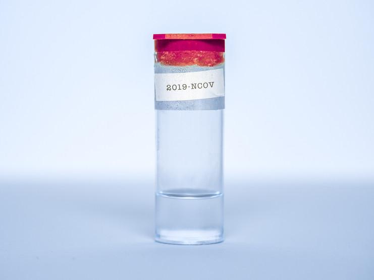 Science COVID vial