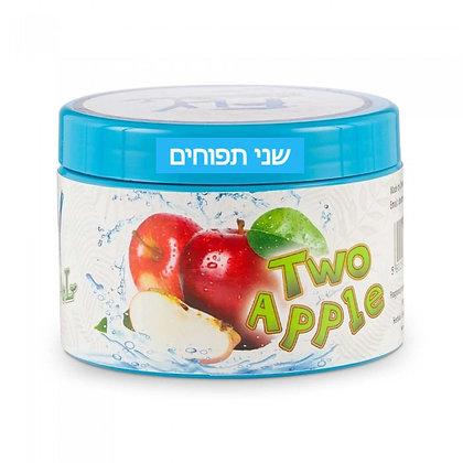 FLY Cold Two Apple -  תערובת פרימיום לנרגילה בטעם שני תפוחים