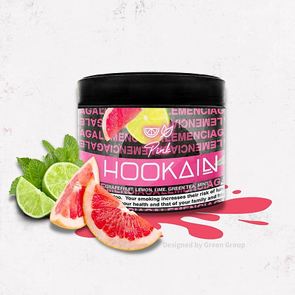 Hookain 60g - Pink Lemenciaga - טבק לנרגילה