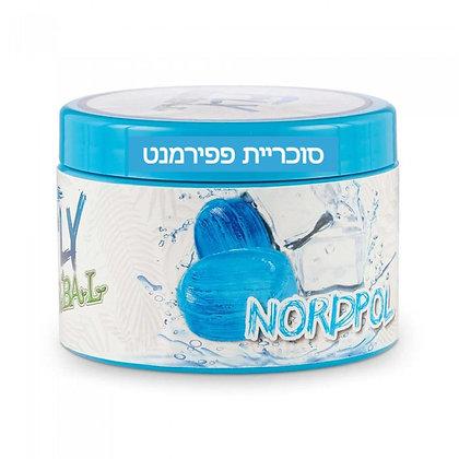 FLY Nordpol -  תערובת פרימיום לנרגילה בטעם סוכריית פפירמנט מתוקה