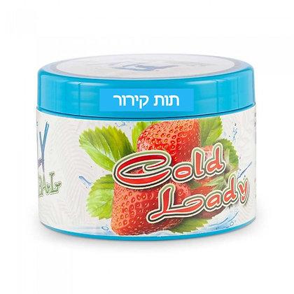 FLY Cold Lady -  תערובת פרימיום לנרגילה בטעם תות קירור