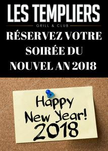 RÉVEILLON NOUVEL AN 2018
