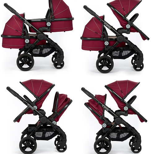 Icandy single or double pushchair