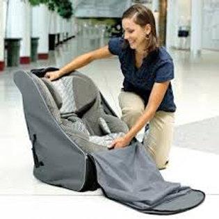 Brica car seat travel tote - backpack & wheels
