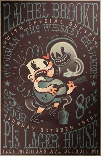 Rachel Brooke Poster
