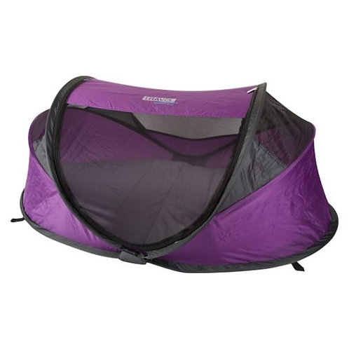 Travel essentials UV pop up travel cot tent