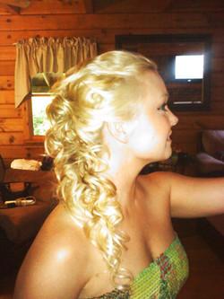 Bridal hair by Alyssa