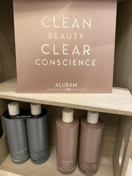 Aluram now available at Salon Sorella