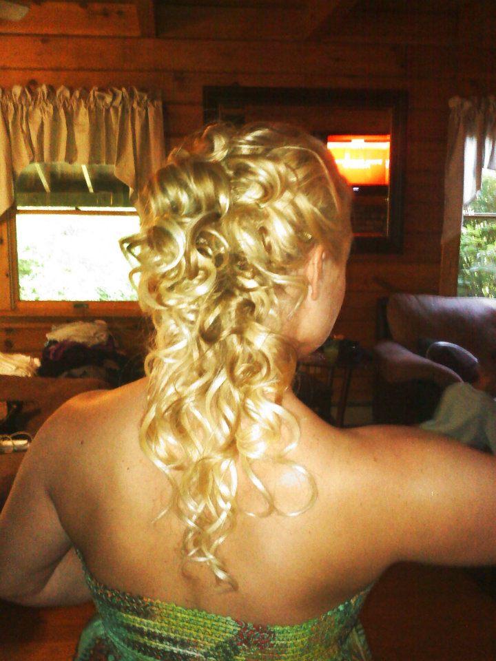 Bridal hair by Alysssa