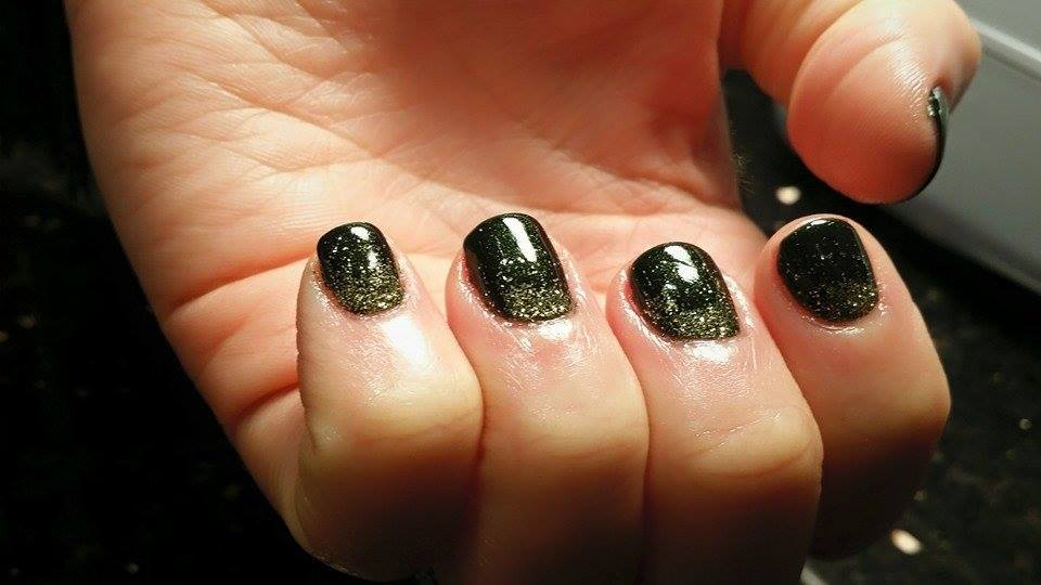 Glitter fade by Beth
