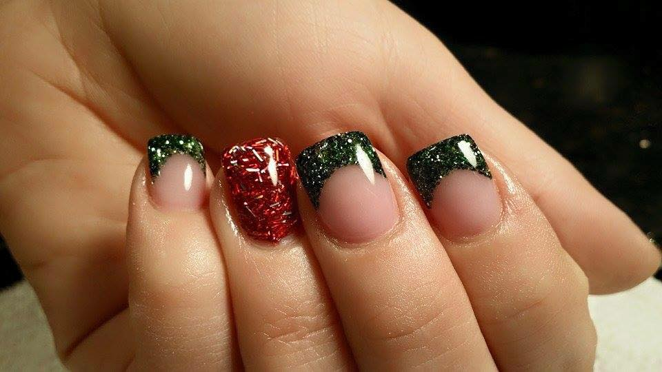 Holiday nails by beth