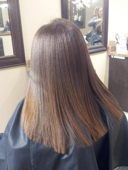 Brazilian Blowout after by Terrence
