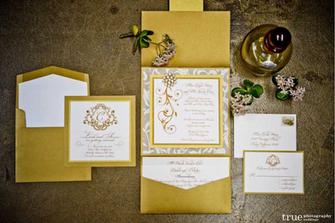 Palm Beach Wedding Invitation Suite Pock
