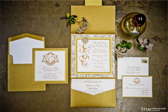 Palm Beach Wedding Invitation Suite Pock