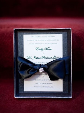 Boca Raton Boxed Wedding Invitation
