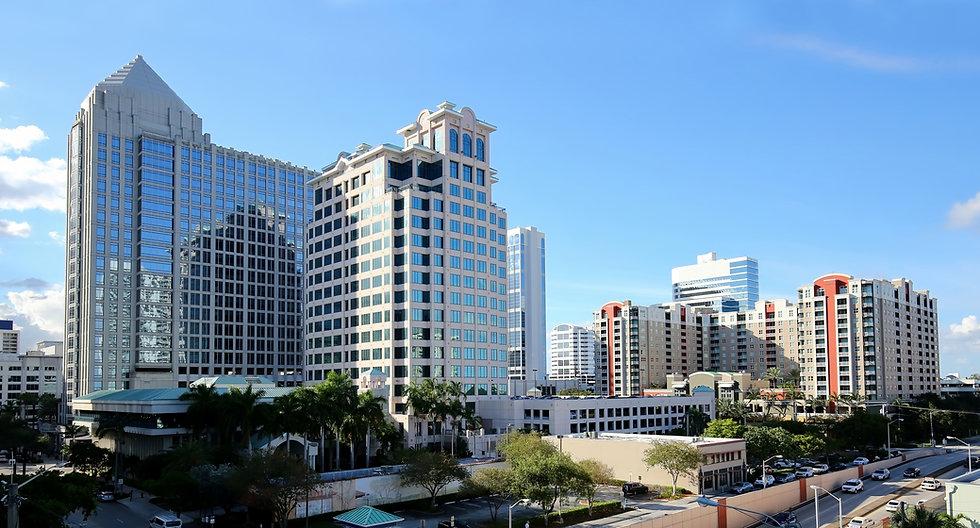 Aerial view of Fort Lauderdale's downtown skyline.jpg