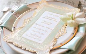 Wedding Menu Event Stationery