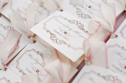 Place Cards Table Numbers