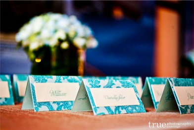 Boca Raton Wedding Venue Place Cards Rec