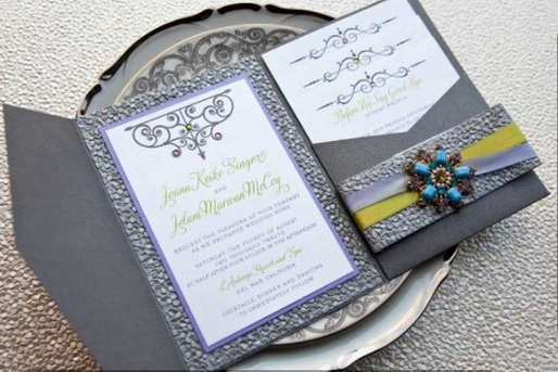 Boca Raton Wedding Invitations Custom De